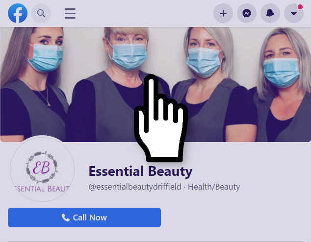 Visit the Essential Beauty Facebook page